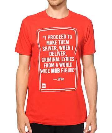 MOB x Rap Quotes 2Pac T-Shirt