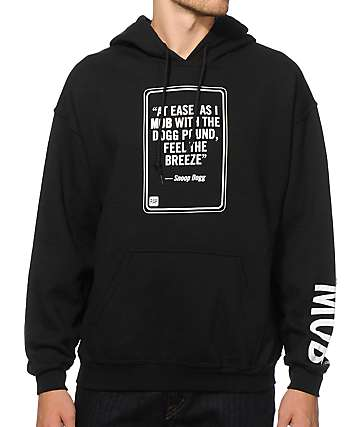 MOB x Rap Quotes Snoop Hoodie