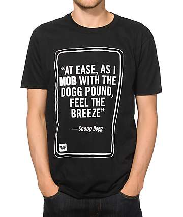 MOB x Rap Quotes Snoop T-Shirt