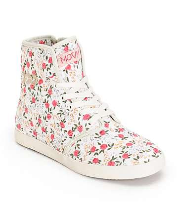 MOVMT Marcos Hi Floral Shoes