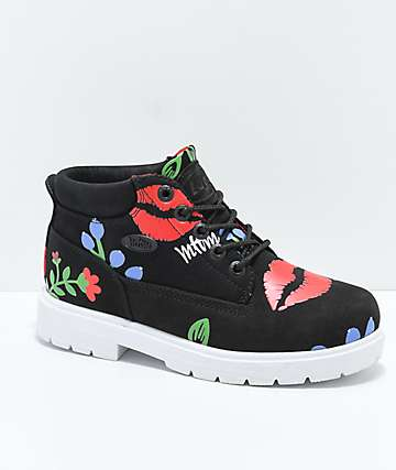 MTTM x Lugz Black Multi-Colored Boot
