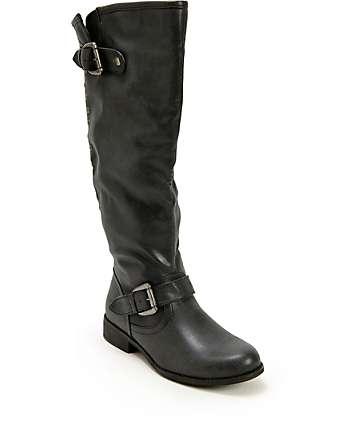 Madden Girl Cactuss Black Boots