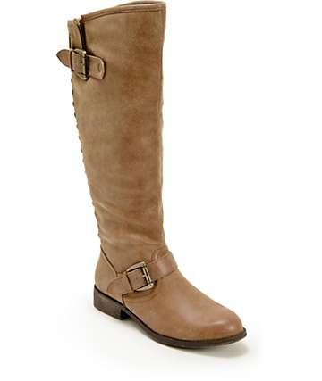 Madden Girl Cactuss Cognac Boots