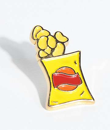 Made In Paradise Bags Of Chips Pin