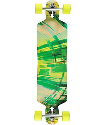 "Madrid Remember Garth 38"" Drop Through Longboard Complete"