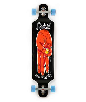 "Madrid Salute DD 40"" Drop Through Longboard Complete"