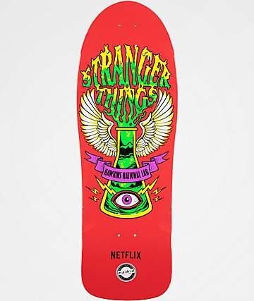 "Madrid x Netflix Stranger Things Hawkins Lab 10.5"" Skateboard Deck"