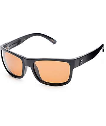 Madson Chase Matte Black & Bronze Polarized Sunglasses