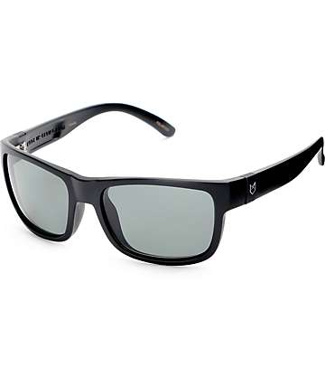 Madson Chase Matte Black & Grey Polarized Sunglasses