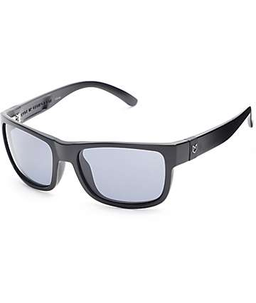 Madson Chase Matte Black & Grey Sunglasses