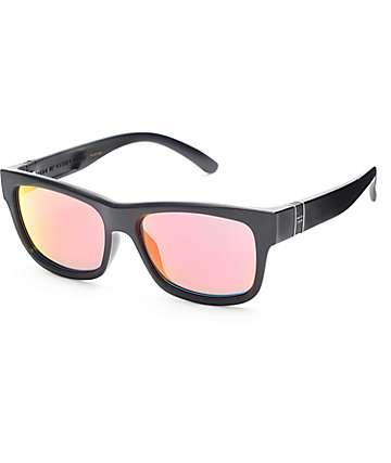 Madson Fairfax Matte Black & Fire Chrome Sunglasses