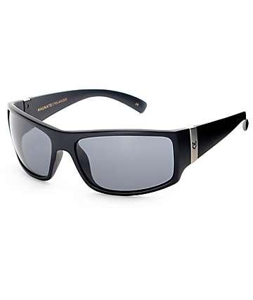 Madson Magnate gafas de sol polarizadas en negro mate y gris