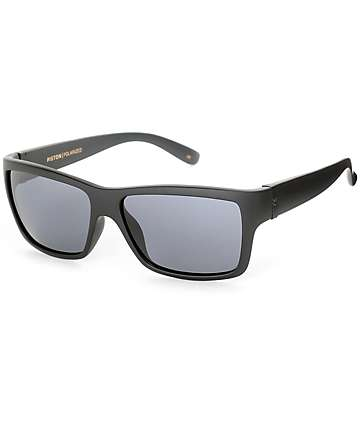 Madson Piston Black and Grey Polarized Sunglasses