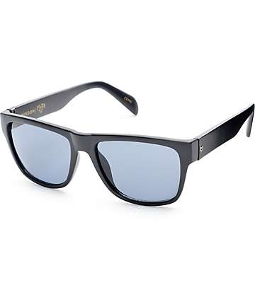 Madson Wisdom Black Matte & Grey Sunglasses