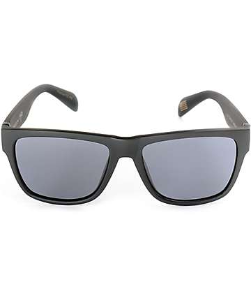 Madson Wisdom Matte Black & Grey Polarized Sunglasses
