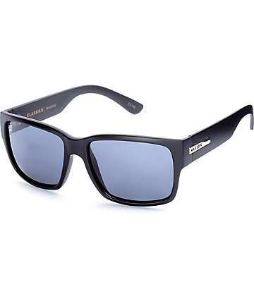Madson X Santa Cruz Classico Black Polarized Sunglasses