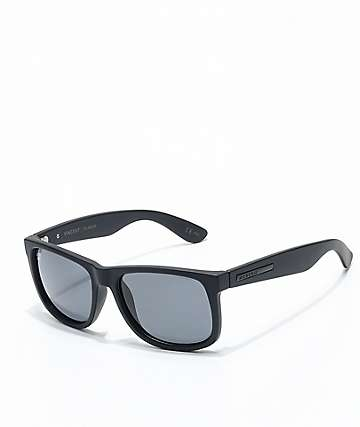 Madson x Santa Cruz Vincent Guadalupe Black Matte Polarized Sunglasses
