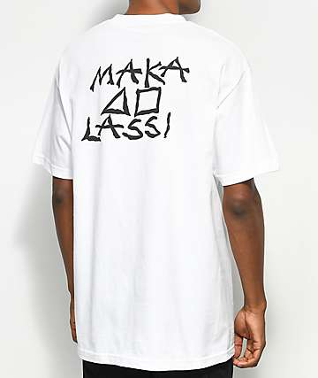 Maka Lassi Tattoo White T-Shirt