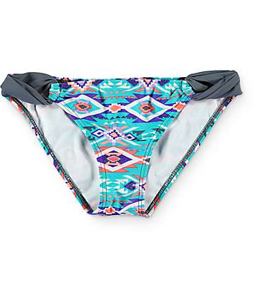 Malibu Desert Fest Tab Side Hipster Bikini Bottom