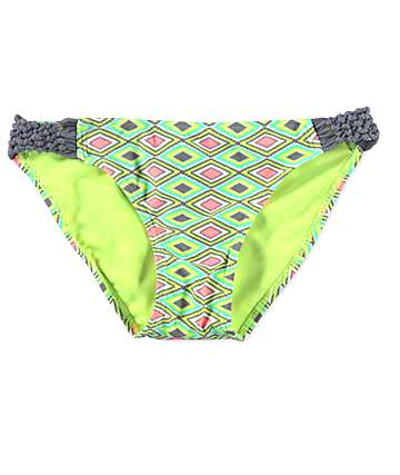 Malibu Diamond Delusion Tab Side Bikini Bottom