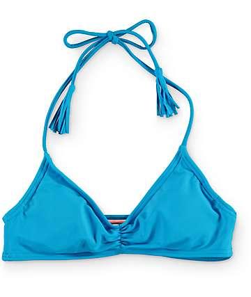 Malibu Sunkissed Bright Azure Bikini Top