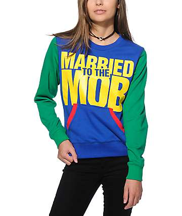 Married To The Mob 82 Crew Neck Sweatshirt