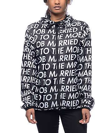 Married To The Mob Barbara 4Ever Windbreaker Jacket
