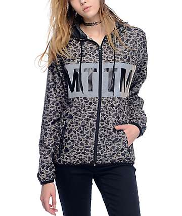 Married To The Mob Camo MTTM Windbreaker Jacket