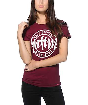 Married To The Mob Circle Logo T-Shirt