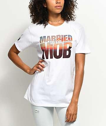 Married To The Mob Georgia camiseta blanca