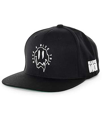 Married To The Mob Have A Nice Trip Snapback Hat