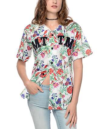 Married To The Mob Wild Child Floral Jersey