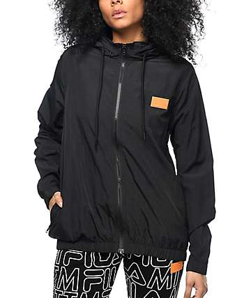 Married To The Mob x Fila Player Black Jacket