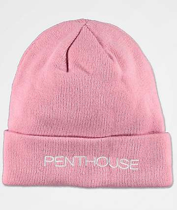 Married To The Mob x Penthouse Blush Beanie