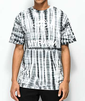 Marshin Twisted Grey Tie Dye T-Shirt