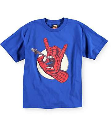 Marvel x Santa Cruz Boys Spiderman T-Shirt