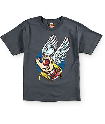 Marvel x Santa Cruz Boys Thor Hand T-Shirt