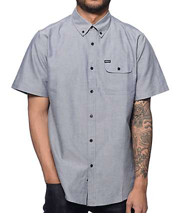 Matix Al Smoke Oxford Button Up Shirt
