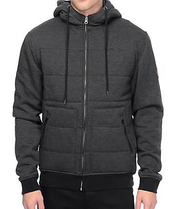 Matix Asher Summit Black Insulated Zipper Hoodie