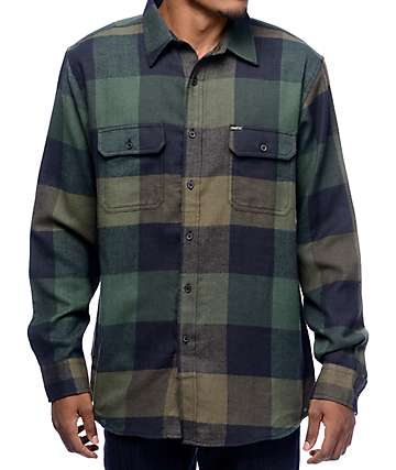 Matix Betters 2 Green Flannel Shirt