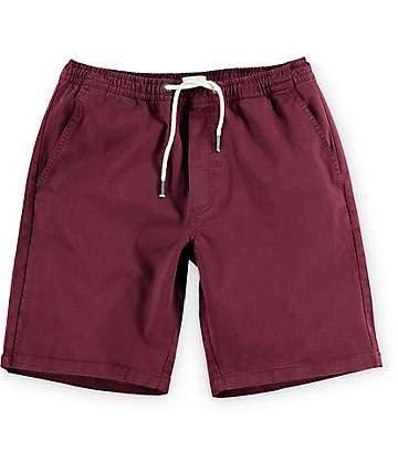 Matix Fast Kash Dark Red Shorts