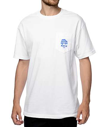Matix Get Bent White T-Shirt