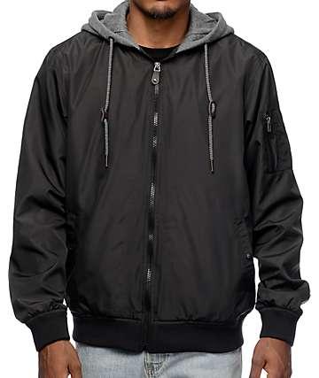 Matix Swanson Black Bomber Jacket