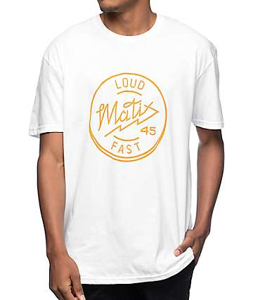 Matix The Headbanger White T-Shirt
