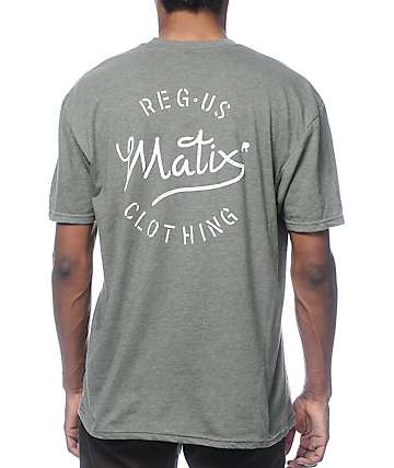 Matix The Mill Military Dark Green T-Shirt