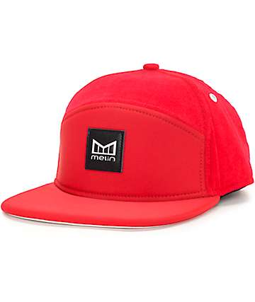 Melin Baywatch Red Snapback Hat