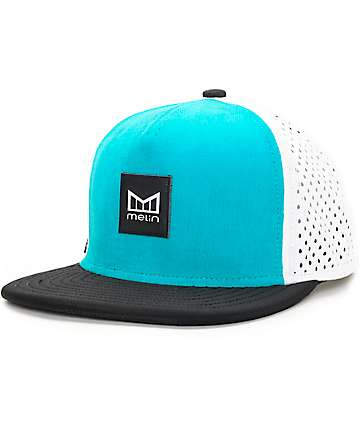 Melin Clarity Blue Snapback Hat