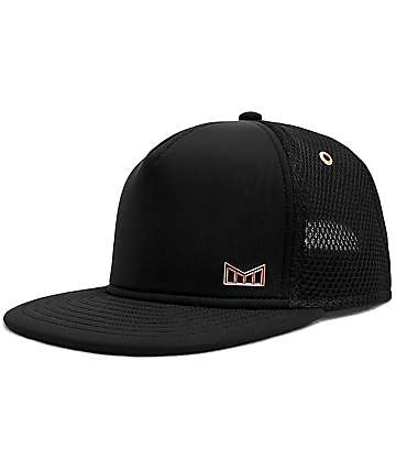 Melin Majesty Black Snapback Hat