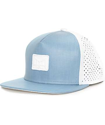 Melin Nomad Chambray Snapback Hat