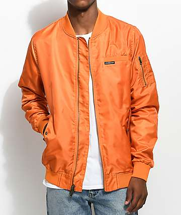 Members Only Military Orange Bomber Jacket